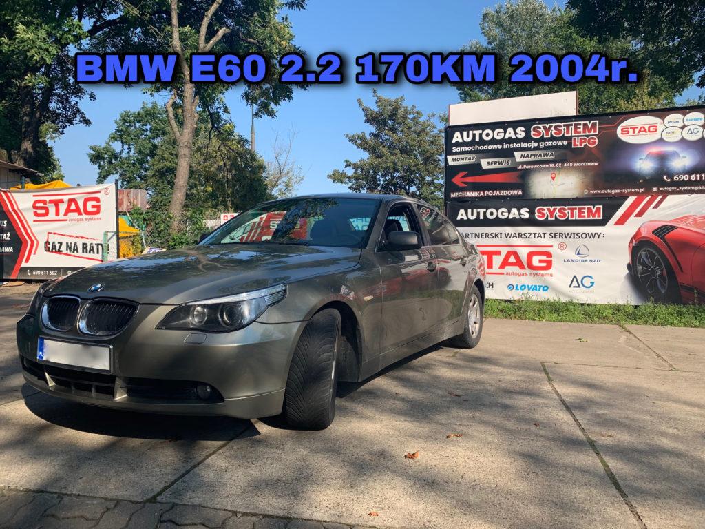 BMW 520i E60 2.2 2004 r. 125kW-170KM STAG