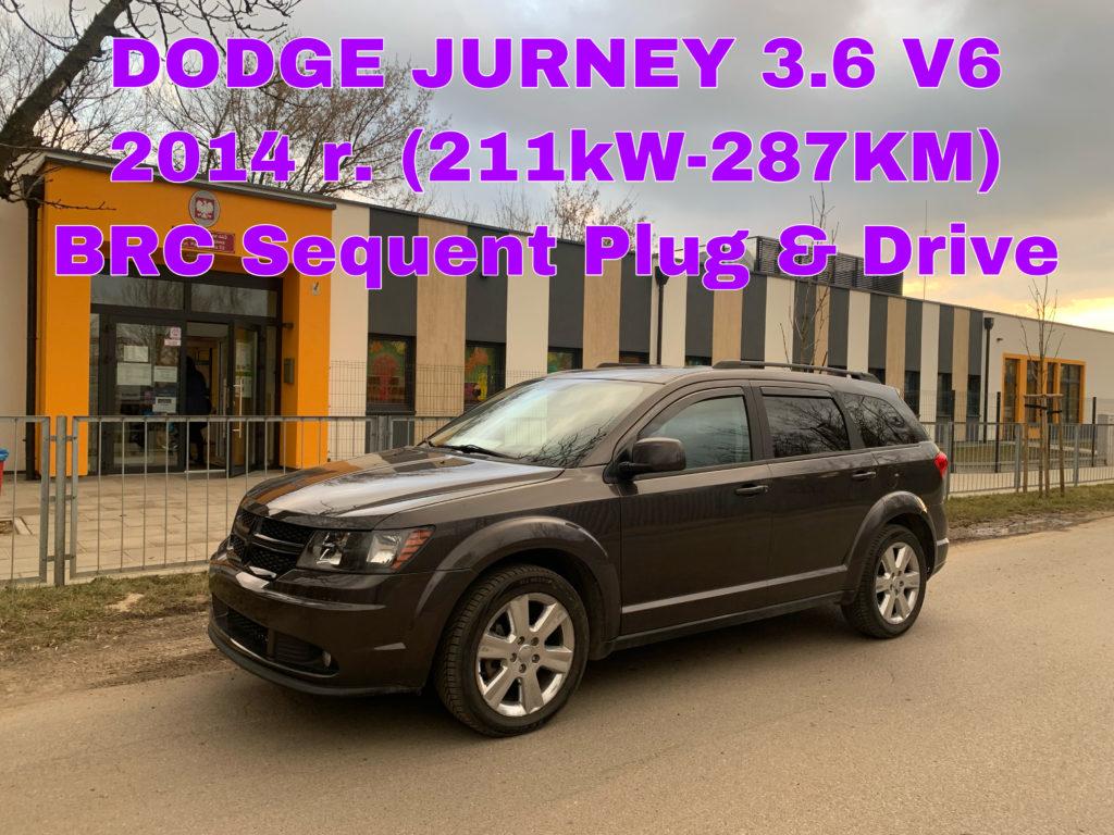 DODGE JURNEY 3.6 V6 2014 r. (211kW - 287KM)