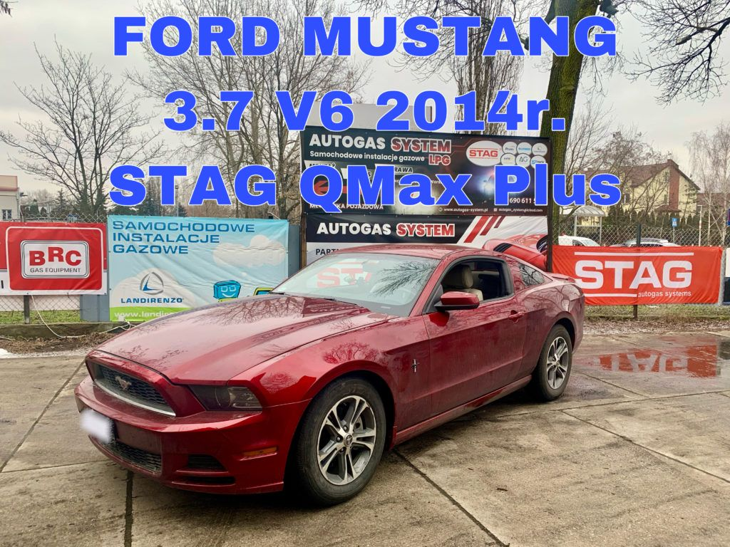 FORD MUSTANG 3.7 2014 r. (224kW - 305KM)