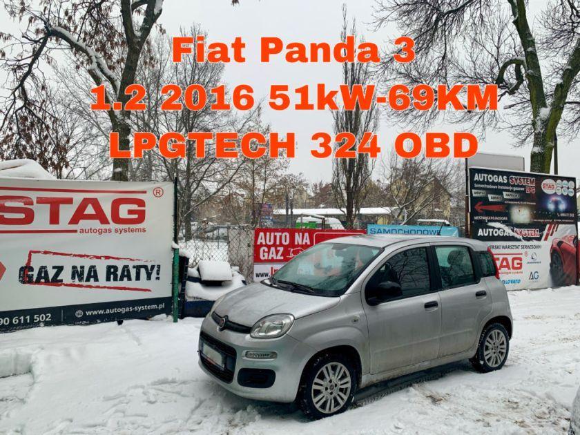 FIAT PANDA 1.2 2016 r. (51kW - 69KM)