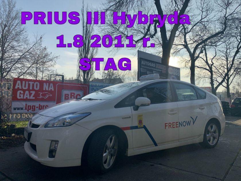 TOYOTA PRIUS III 1.8 2011 r. (73kW - 99KM)