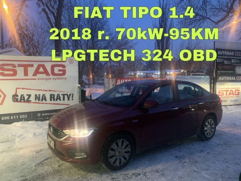 FIAT TIPO 1.4 2018 r. (70kW - 95KM)