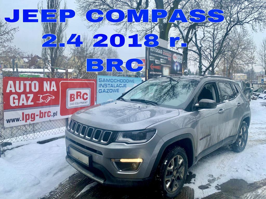 JEEP COMPASS 2.4 2018 r. BRC