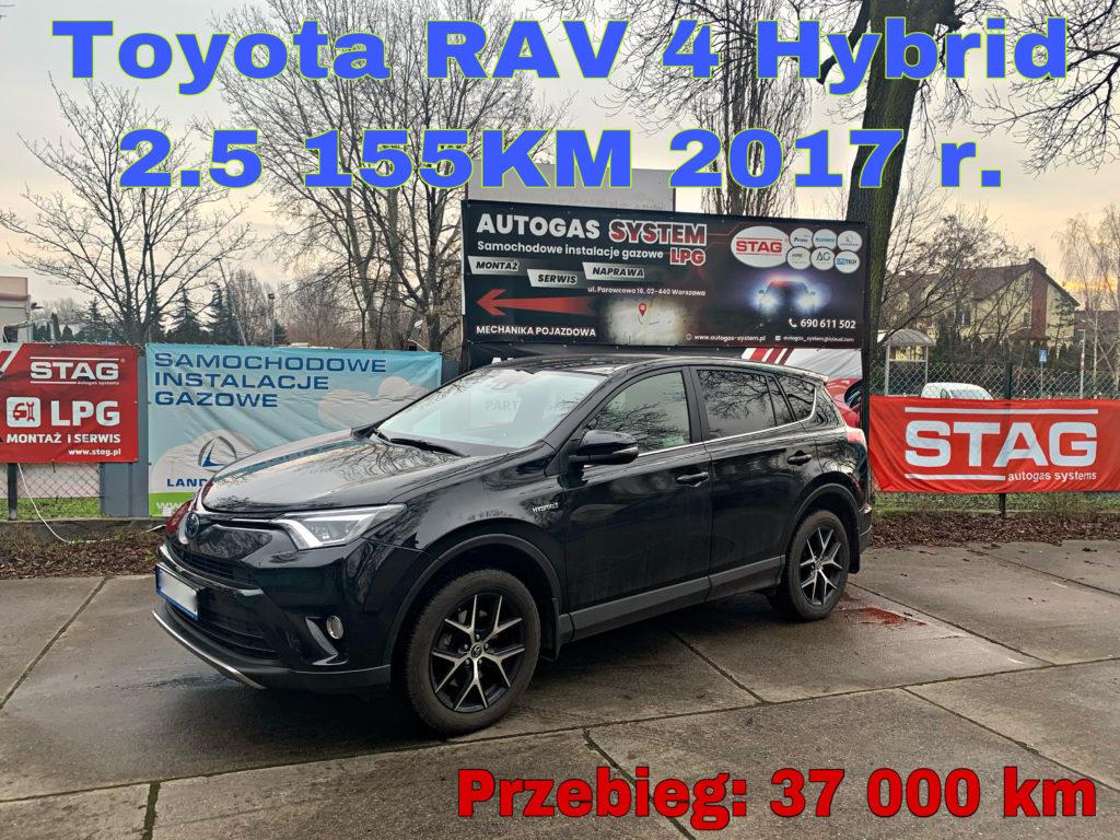 TOYOTA RAV4 2.5 2017 r. o mocy (114kW-155KM)