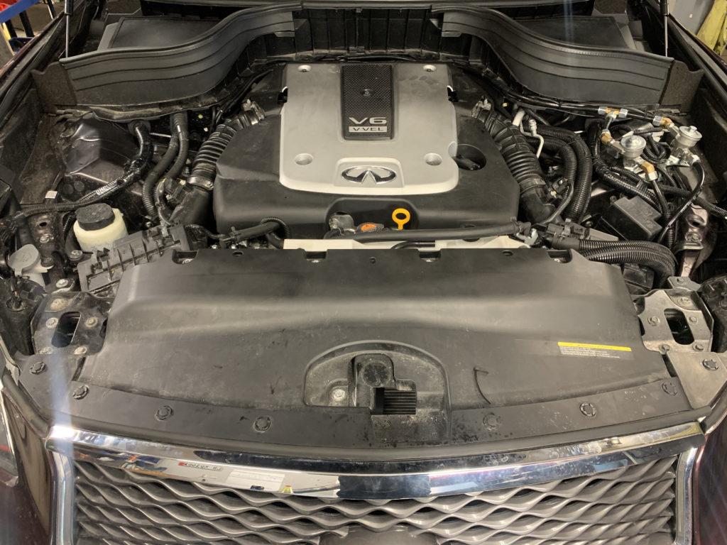 INFINITY QX50 3.7 V6 2017 r. (235kW - 320KM)
